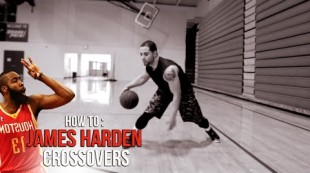 How To- James Harden BEST CROSSOVER & Basketball Moves!