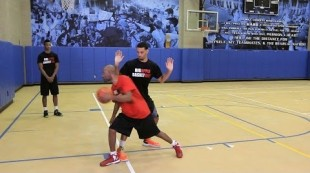 How to Do a Drop-Step   Basketball Moves
