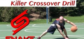 Killer Crossover Drill Tutorial – How to do NBA Ankle Breaker Dribbling Moves | Snake