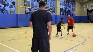 How to Throw a Dribble Pass | Basketball Moves