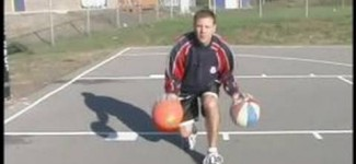 Basketball Dribbling Tips & Tricks : How to Dribble Two Basketballs at Once