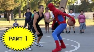 The Amazing Spiderman plays Basketball Part 1
