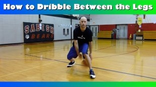 How To Dribble Between the Legs Crossover Tutorial – Basic Basketball Moves For Beginners