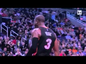 NBA 2016 - Heat vs. Suns - Dwyane Wade Spin And Dunk