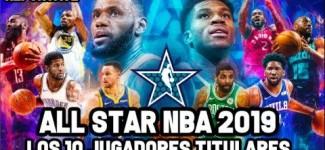 All Star NBA 2019 – Los 10 Jugadores Titulares  | Reportaje NBA