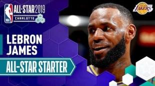 LeBron James 2019 All-Star Captain   2018-19 NBA Season