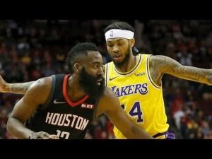 LA Lakers vs Houston Rockets