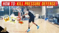 How to: EASILY Beat Tight Pressure Defense in Basketball!