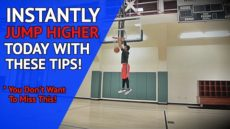 How To: INSTANTLY JUMP HIGHER! Increase Your Vertical Jump Right Now!